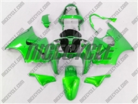 Kawasaki ZX6R Monster Green Fairings