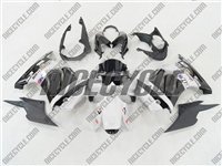 White Monster-ous Ninja 250R Fairings