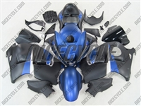 Suzuki GSX-R 1300 Hayabusa Matte Blue/Black Fairings