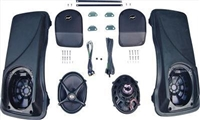 J&M ROKKER® XX 5X7 Saddlebag Lid Speaker Kit
