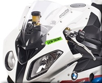 Hotbodies BMW S1000RR (2010-Present) GP Windscreen (Dual Radius) - Clear