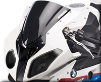 Hotbodies BMW S1000RR (2010-Present) GP Windscreen (Dual Radius) - Solid Black