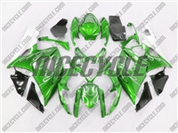 Suzuki GSX-R 1000 Metallic Green Fire Fairings