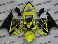 Honda CBR 600 F4i Yellow Fairings
