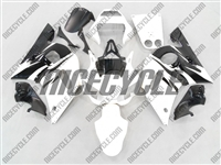 Yamaha YZF-R6 Black/White Fairings