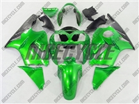 Kawasaki ZX12R Electric Green Fairings