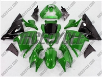 Deep Green Kawasaki ZX10R Fairings