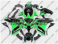 Honda CBR 1000RR Racer Green/Black Fairings