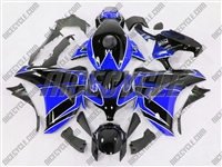 Racer Blue/Black Honda CBR 1000RR Fairings