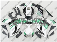 Honda CBR 1000RR White/Green Castrol Fairings