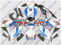 Honda CBR 1000RR White/Blue Castrol Fairings