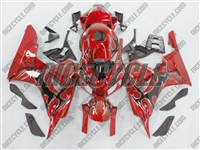 Honda CBR 1000RR Red/Black Tribal Fairings