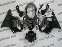 Black Honda CBR 600 F4i Fairings