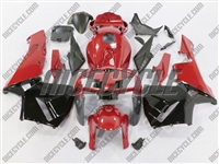 Honda CBR 600RR Deep Red/Black Fairings