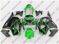 Honda CBR 954RR Electric Green Fairings