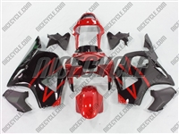 Honda CBR 954RR Black/Red Fairings