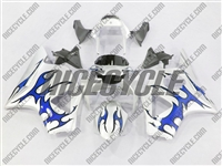 Blue Tribal Honda CBR 954RR Fairings