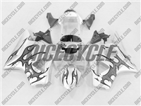Honda CBR 954RR Charcoal Tribal Fairings