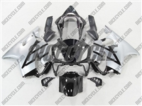 Black/Silver Honda CBR 600 F4i Fairings