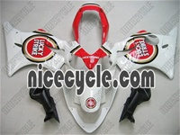 Honda CBR 600 F4i Lucky Strike Red Fairings