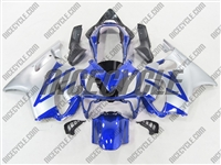 Honda CBR 600 F4i Metallic Blue/Silver Fairings