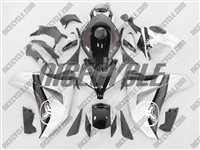Honda CBR 1000RR Two Brothers Silver/Charcoal Fairings