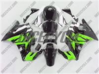 Honda CBR 600 F2 Bright Green/Black Fairings
