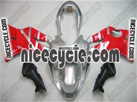 Honda CBR 600 F4i Silver/Red Fairings