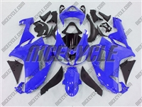 Kawasaki ZX6R Bright Blue Fairings