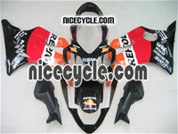 Honda CBR 600 F4i Repsol Orange Fairings