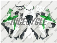 Yamaha YZF-R1 Metallic Green/White Fairings