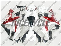 Yamaha YZF-R1 Metallic Red/White Fairings