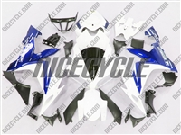 Yamaha YZF-R1 Electric Blue/White Fairings