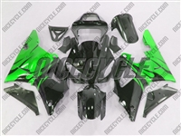 Yamaha YZF-R1 Electric Green Flames Fairings