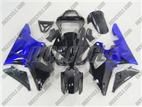 Electric Blue Flames Yamaha YZF-R1 Fairings