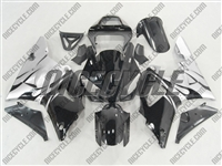 Electric Silver Flames Yamaha YZF-R1 Fairings