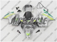 Silver Movistar Honda VFR 800 Fairings