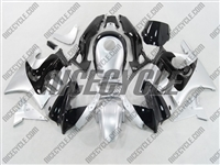 Honda CBR 600 F2 Quicksilver/Black Fairings