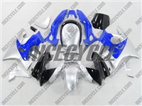 Honda CBR 600 F2 Blue/Silver Fairings
