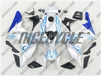 Honda CBR 1000RR Blue Flame/White Fairings