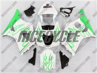 Suzuki GSX-R 1000 Super Green Fire Fairings