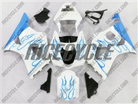 Suzuki GSX-R 1000 Sky Blue Flame Fairings