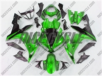 Yamaha YZF-R1 Mean Green Fairings