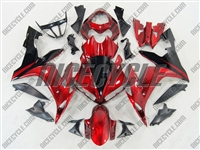 Yamaha YZF-R1 Deep Red Fairings
