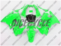 Honda CBR 600 F2 Neon Green Fairings