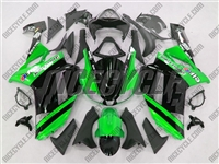 Kawasaki ZX6R Metallic Green Monster-ous Fairings