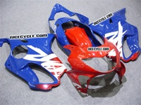Honda CBR 600 F4 Blue/Red Fairings