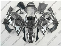 Yamaha YZF-R6 Silver Tribal Fairings
