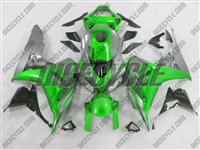 Honda CBR1000RR Metallic Green/Silver Fairings