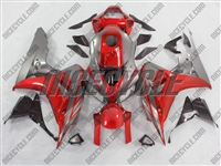 Honda CBR1000RR Metallic Red/Silver Fairings